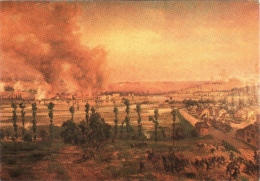 CPM 08 (Ardennes) Sedan - Musée Château-Fort. Panorama De La Bataille De Sedan TBE Par Ludwig Braun - Peintures & Tableaux
