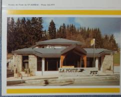 Petit Calendrier De Poche 1987 La Poste Bureau De St  Saint Agrève - Calendars