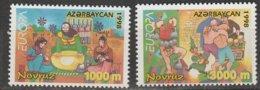 Azezbaidjan Europa 1998 N° 359/ 360 ** Festivals Nationaux - Europa-CEPT