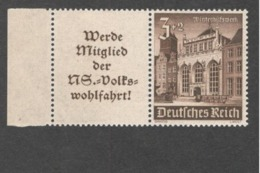 GERMANY1938:Michel W148mnh** - Zusammendrucke