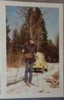 Petit Calendrier De Poche 1987 La Poste  Facteur à Skis Voiture Renault 4L - Calendars