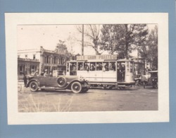 MILAN 1927 Voiture D'HUMBERT De SAVOIE Photo Amateur Format Environ 5,5 Cm X 3,5 Cm - Automobiles