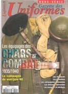EQUIPAGES CHARS COMBAT 1935 1940 CAMPAGNE MAI JUIN 40 BCC BLINDES TANK DCR UNIFORMES HORS SERIE N°21 - Francese