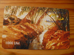 Phonecard Mauritania - Mauritanië