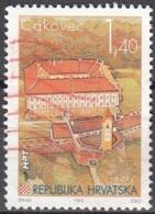 Hrvatska 1995 Michel 343 O Cote (2006) 0.50 Euro Cakovec Vieux Ville - Croatie