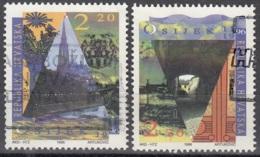 Hrvatska 1996 Michel 402 - 403 O Cote (2006) 1.40 Euro 800 Ans Ville De Osijek - Croatie