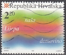 Hrvatska 1996 Michel 374 O Cote (2006) 0.75 Euro Antun Mihanovic Hymne National - Croatie