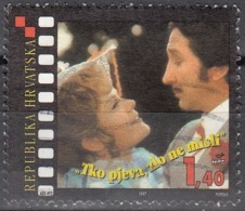 Hrvatska 1997 Michel 409 O Cote (2006) 0.80 Euro 100 Ans Film Mirjana Bohanec Et Relja Basic - Croatie
