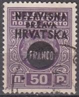 Hrvatska 1941 Michel 43 O Cote (2006) 0.60 Euro Armoirie Cachet Rond - Croatie