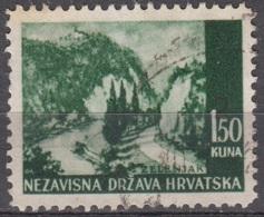 Hrvatska 1941 Michel 51 O Cote (2006) 0.10 Euro Paysage De Zelenjak Cachet Rond - Croatie
