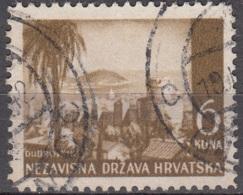 Hrvatska 1941 Michel 57 O Cote (2006) 0.20 Euro Dubrovnik Cachet Rond - Croatie