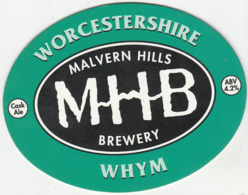 MALVERN HILLS BREWERY (MALVERN, ENGLAND) - WHYM - PUMP CLIP FRONT - Insegne