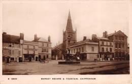 Market Square & Fountain, Chippenham - Angleterre