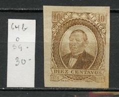Mexique - Mexiko - Mexico 1877-82 Y&T N°64b - Michel N°(?) Nsg - 10c B Juarez - Mexico
