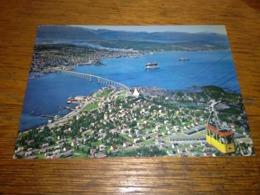 148456 VECCHIA CARTOLINA NORVEGIA NORWAY TROMSO FUNIVIA - Norvegia