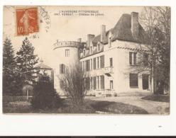 Puy De Dôme Vensat Château De Lafont - France