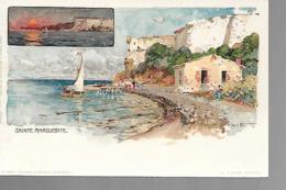 06 STE MARGUERITE  LITHO  Dessin Wieland T 1899 - France