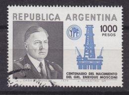 Argentina 1979 Mi. 1422    1000 P Enrique Mosconi & Ölfördeanlage - Argentina