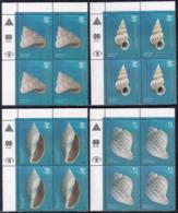 Argentina - 2008 - Faune Marine - Coquillages - Yvert 2753 / 2756 - Ungebraucht