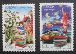 Serbien    Kinderbücher  Cept    Europa  2010  ** - Europa-CEPT