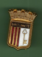 BARCELONNETTE *** BLASON *** 1054 (80-2) - Ciudades