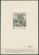 Tschechoslowakei 1968 FIP Malerei A.Dürer Schwarzdruck 1805 Postfrisch (C93157) - Blocs-feuillets