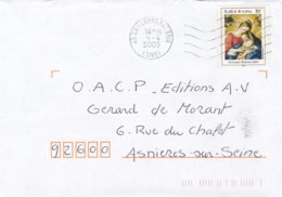France Lettre 2003 - France
