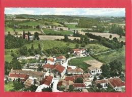 CPSM Grand Format -  Nanteuil De Bourzac   -(24.Dordogne) - Vue Panoramique Aérienne - France