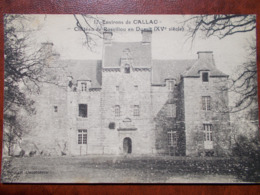 22 - Environs De CALLAC - Château De Rosviliou En Duault (XVe Siècle). Rare - Autres Communes