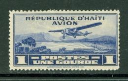 Poste Aérienne. Haïti; Timbre Scott Stamp # C-4; Usagé / Used. (8145) - Haïti