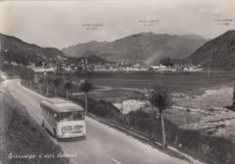 GAZZANIGA-BERGAMO-AUTOBUS-BUS-CORRIERA-TORPEDONE-CARTOLINA VERA FOTOGRAFIA-VIAGGIATA IL 23-8-1955 - Bergamo