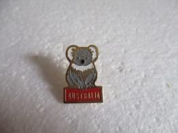 Pin's Animalier Australia - Koala. - Animaux