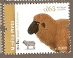 Portugal ** & Native Races Of Portugal,Black Merina Sheep 2018 (8888) - Fattoria