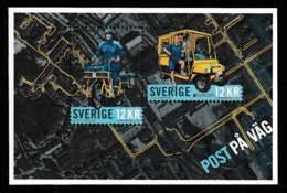 SWEDEN 2013 EUROPA Postal Vehicles/Post På Väg: Miniature Sheet UM/MNH - Blocchi & Foglietti