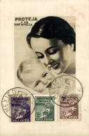 Mexico, Maximum 1930, Proteja A La Infancia, Protect Childrens   MEXICANO MÉXICO Mexique - Mexique