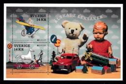 SWEDEN 2015 EUROPA Loved Toys/Älskade Leksaker: Miniature Sheet UM/MNH - Blocchi & Foglietti