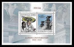SWEDEN 2016 Lund University: Miniature Sheet UM/MNH - Blocks & Kleinbögen