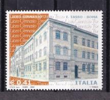 Italy, 2003- Scuole E Università, 18^serie. Liceo Torquato Tasso. MintNH. - 6. 1946-.. Republic