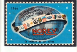 Catalogue 1966 Norev  -La Voiture De Vos Rêves . Les Miniatures, Les Microminiatures , Les Travaux Publics. - Autres Collections