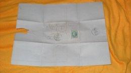 LETTRE ANCIENNE DE 1870.../ GOUIN FRERES TOURS POUR COSNE...CACHET + OBLITERATION GC 3997 + TIMBRE - Marcofilie (Brieven)