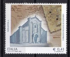 Italy, 2003- Patrimonio Artistico. Abbazia Di Nonantola. MintNH - 6. 1946-.. Republic