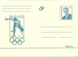 NAGANO - 1998(1) - N° 65 - ** - Cartes Postales [1951-..]