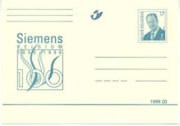 SIEMENS 1898/1998 - 1998(2) - N° 67 - ** - Entiers Postaux