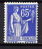 FRANCE - 365** - TYPE PAIX - 1932-39 Vrede