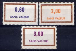 FRANCE - F201/203** - FICTIF EMISSION 1974 - Phantomausgaben