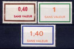 FRANCE - F204/206** - FICTIF EMISSION 1976 - Phantomausgaben