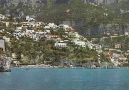 POSITANO-SALERNO-TORRE DI FORNILLO-CARTOLINA VERA FOTOGRAFIA VIAGGIATA NEL 1967 - Salerno