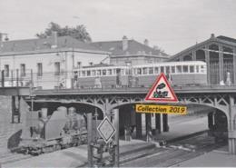 193T - Rame C.G.F.T. Du Tramway De Nancy (54), Sur Le Pont De La Gare SNCF - - Nancy