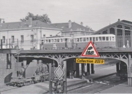 193T - Rame C.G.F.T. Du Tramway De Nancy (54), Sur Le Pont De La Gare SNCF - - Tramways