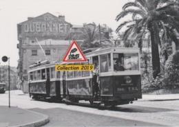 201T - Rame Réversible Du Tramway De Nice (06), Place De La Croix De Marbre  - - Transport (road) - Car, Bus, Tramway